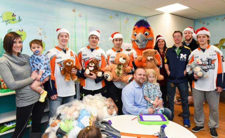 Flint Firebirds community support - Awesome Mitten