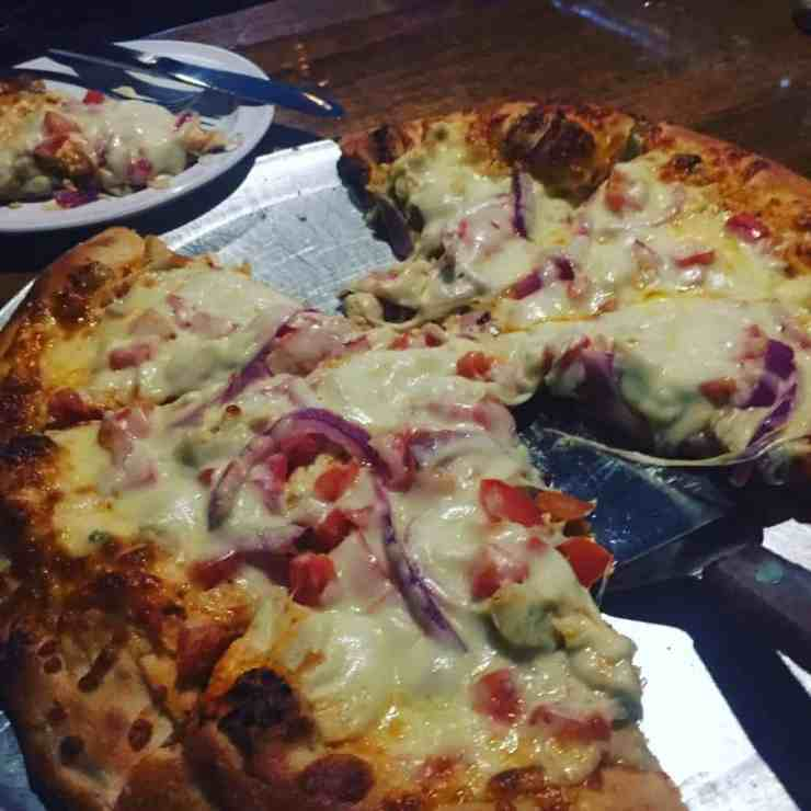 Pizza at Shady's Tap Room