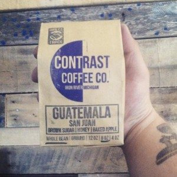 Direct trade coffee from Guatemala, photo courtesy of Contrast Coffee Co.