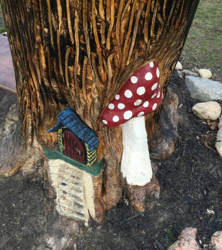 fantasy forest fairy door
