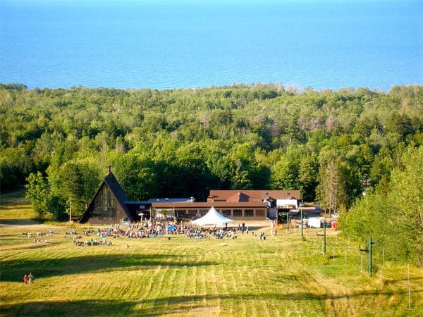 If the music doesn't take your breath away, the scenery at Porcupine Mountain State Park will. Photo courtesy of Porcupine Mountains Music Festival