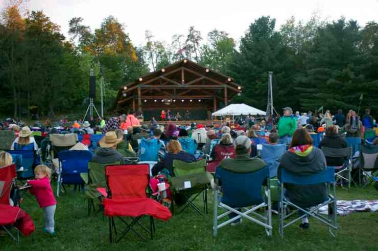Each year, more than 200 artists perform and present at Wheatland Music Festival and Traditional Arts Weekend. Photo courtesy of The Daily News - Lakeview