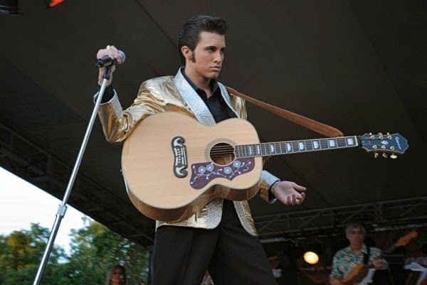 Michigan Elvis Fest is one of only a handful to be sanctioned by Elvis Presley Enterprises. Photo courtesy of Retro Kimmer