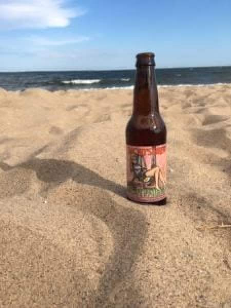 The beach is always better with a Short's Soft Parade. Photo courtesy of Jennifer Symons