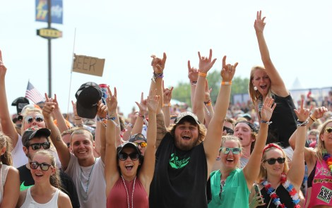 Country Music, A Party, and Michigan Pride Found at Faster Horses Festival