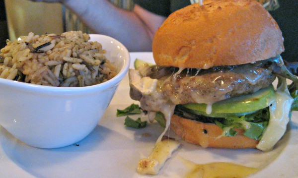 The Turkey Apple Brie Burger at Harvey's was a huge hit. Photo Courtesy of Margaret Clegg