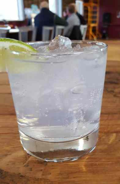 The best gin and tonic ever from Sanctuary Spirits. Photo by Jackie Mitchell