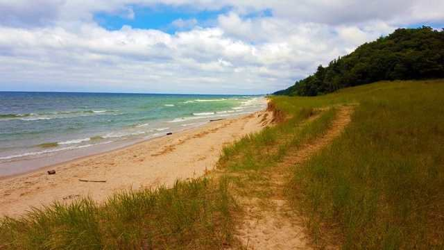 Lake Michigan Beaches Worth a Look on the West Side - Lake Harbor Park, Norton Shores
