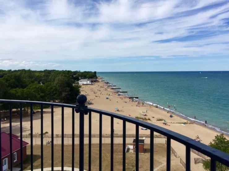 Fort Gratiot Light, Beach, Port Huron - Joel Heckaman - The Awesome Mitten