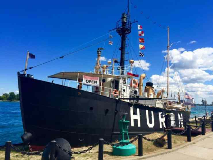 Huron Lightship Museum, Port Huron - Joel Heckaman - The Awesome Mitten