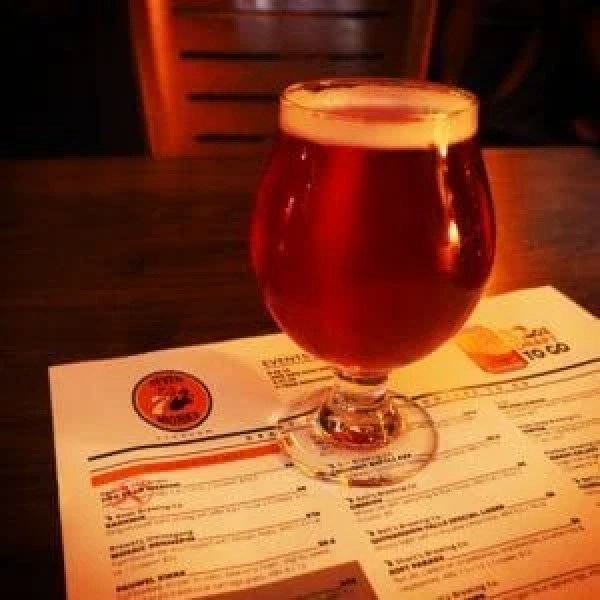 Saturday's craving for Short's was finally quenched at 7 Monks Taproom.