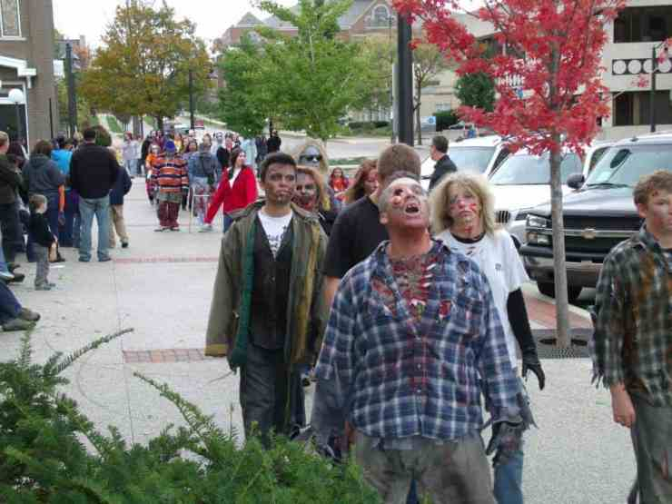 Grand Haven Zombie Walk - Awesome Mitten