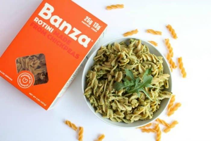 Detroit's Banza chickpea pasta