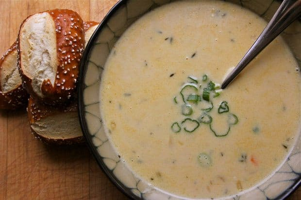 Cheddar Ale Soup from Grizzly Peak Brewing Company. Photo by Jessica Webster.