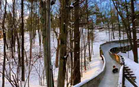 An Exhilarating Winter Activity: Muskegon Winter Luge Track