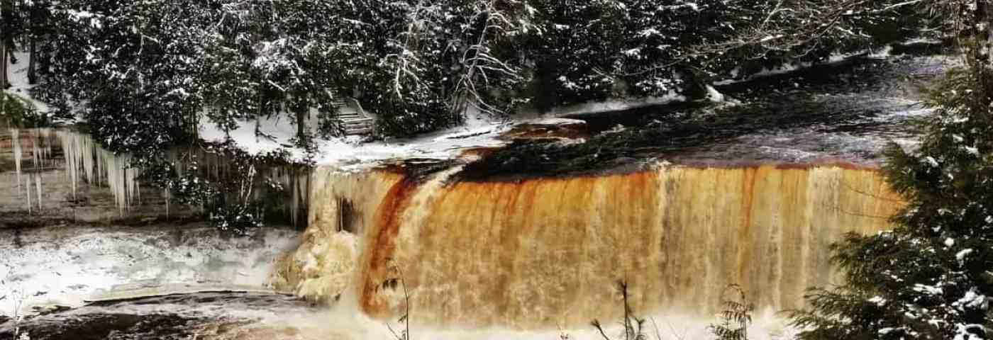 Winter Adventures At Tahquamenon Falls State Park