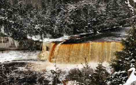 Winter Adventures At Tahquamenon Falls State Park