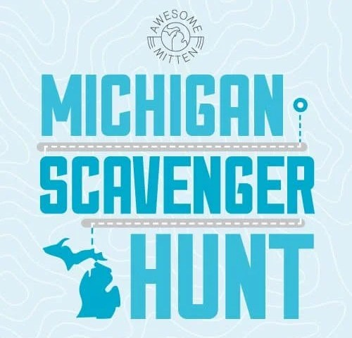 Michigan's Birthday Scavenger Hunt