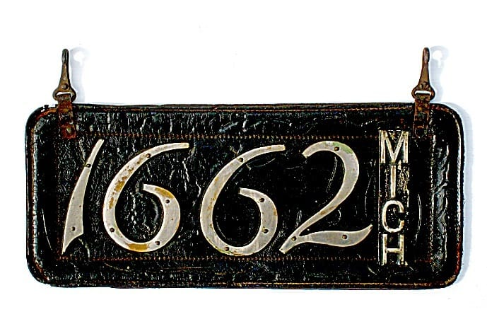 A History Of Michigan's License Plates - The Awesome Mitten