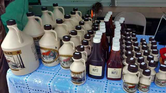 Benedict Family Maple, Vmaple syrup, ermontville, Michigan