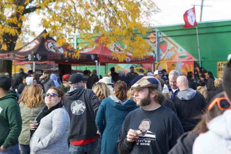 Michigan Brewers Guild's Detroit Fall Beer Festival - The Awesome Mitten