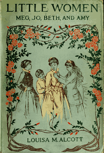 Little Women vintage book cover