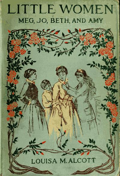 Little Women vintage book cover