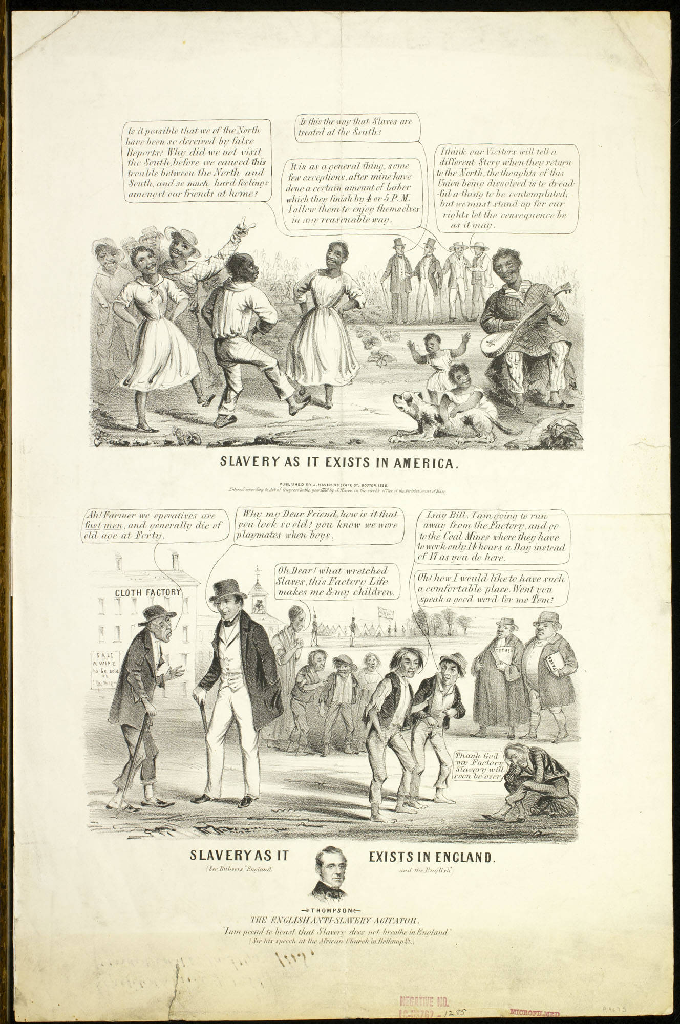 Cartoon Pictures African Americans During Slavery Times