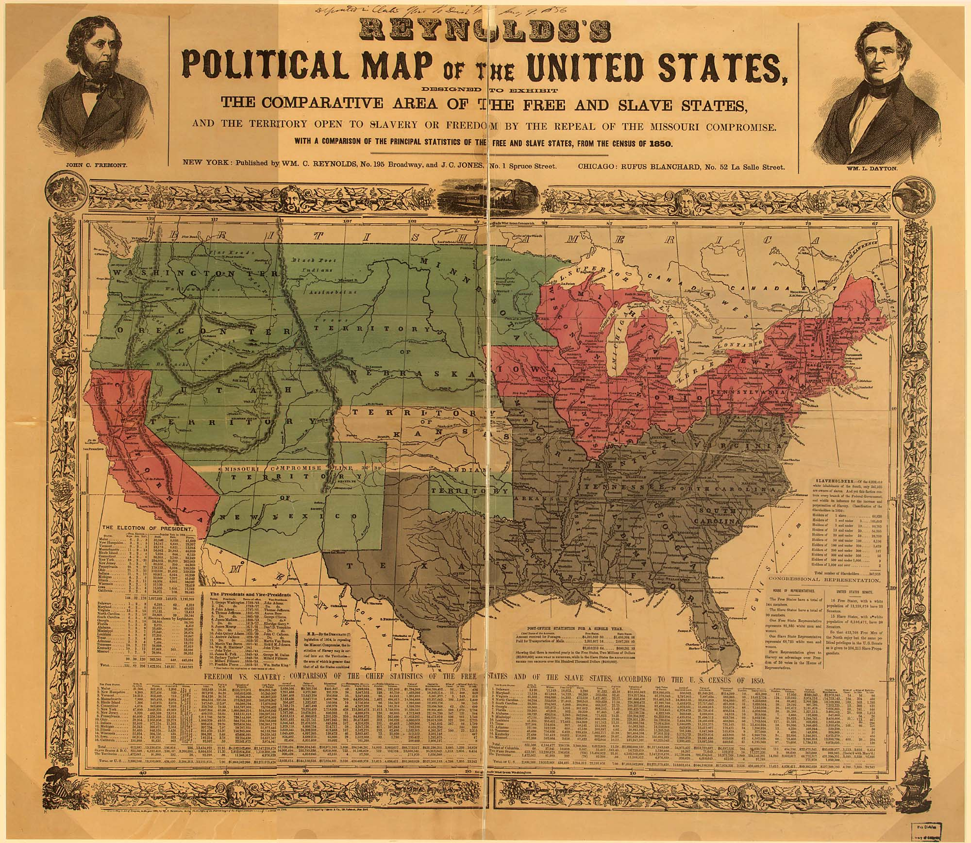 Political Map Of The U S