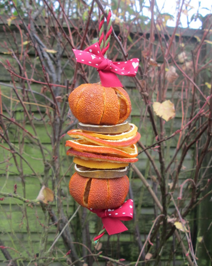dried fruit decorations how to use dried fruit for christmas decorations