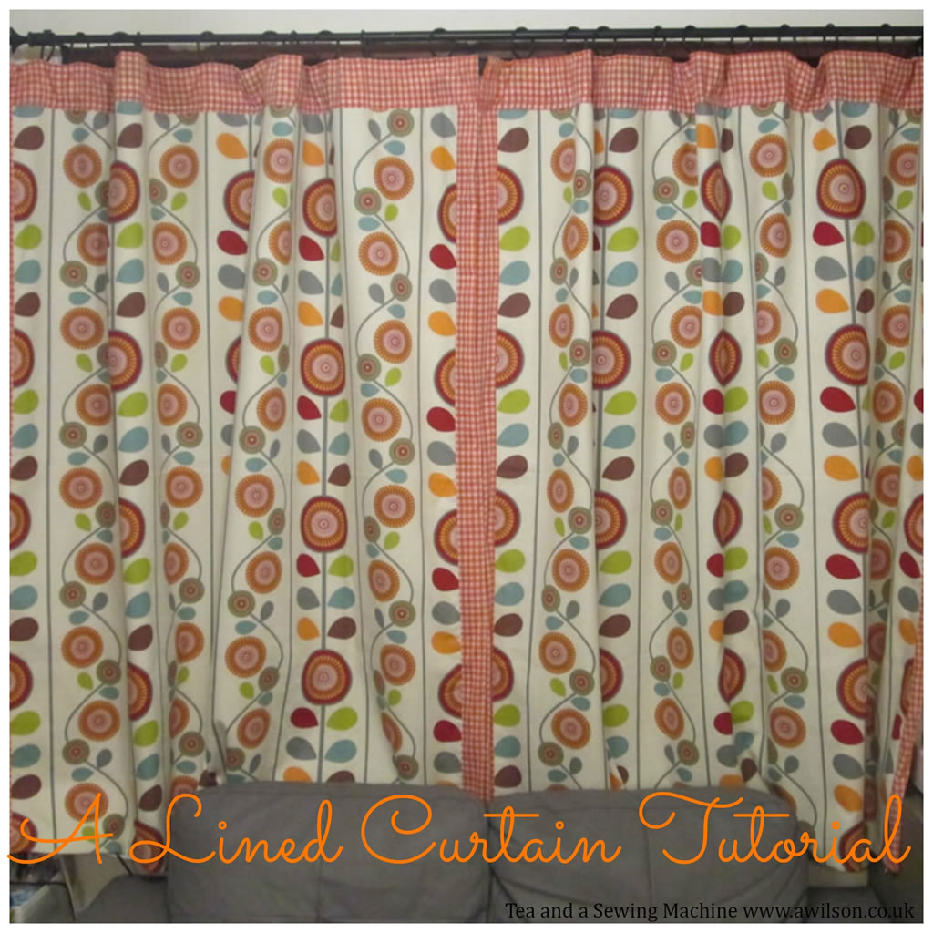Patchwork shower curtain tutorial - Since We Ve Redecorated The Front Room I Decided It Was Time For Some New Curtains And This Time I Measured The Window Before Fabric Shopping