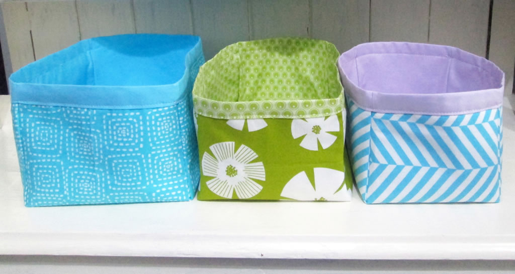... how to make nesting fabric storage boxes ... & How to Make Nesting Fabric Storage Boxes -