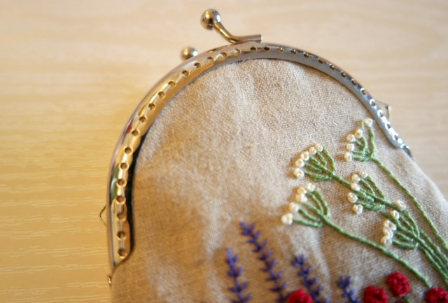 how to sew in a purse frame how to sew a purse with a clasp frame