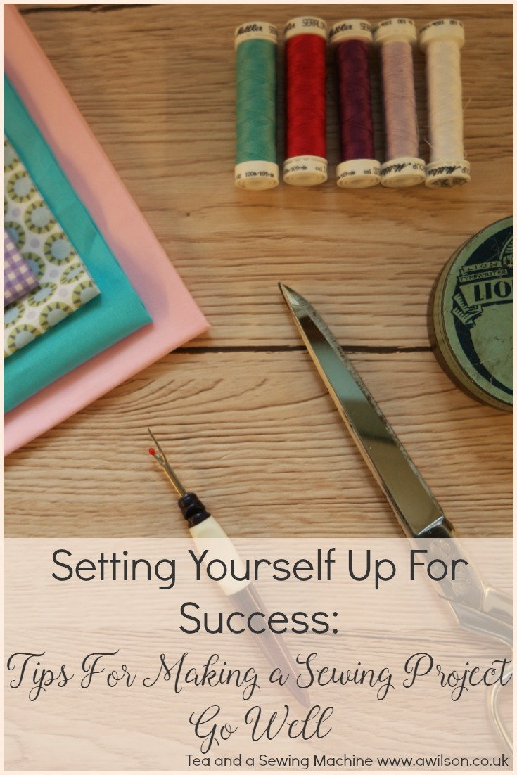 tips for successful sewing