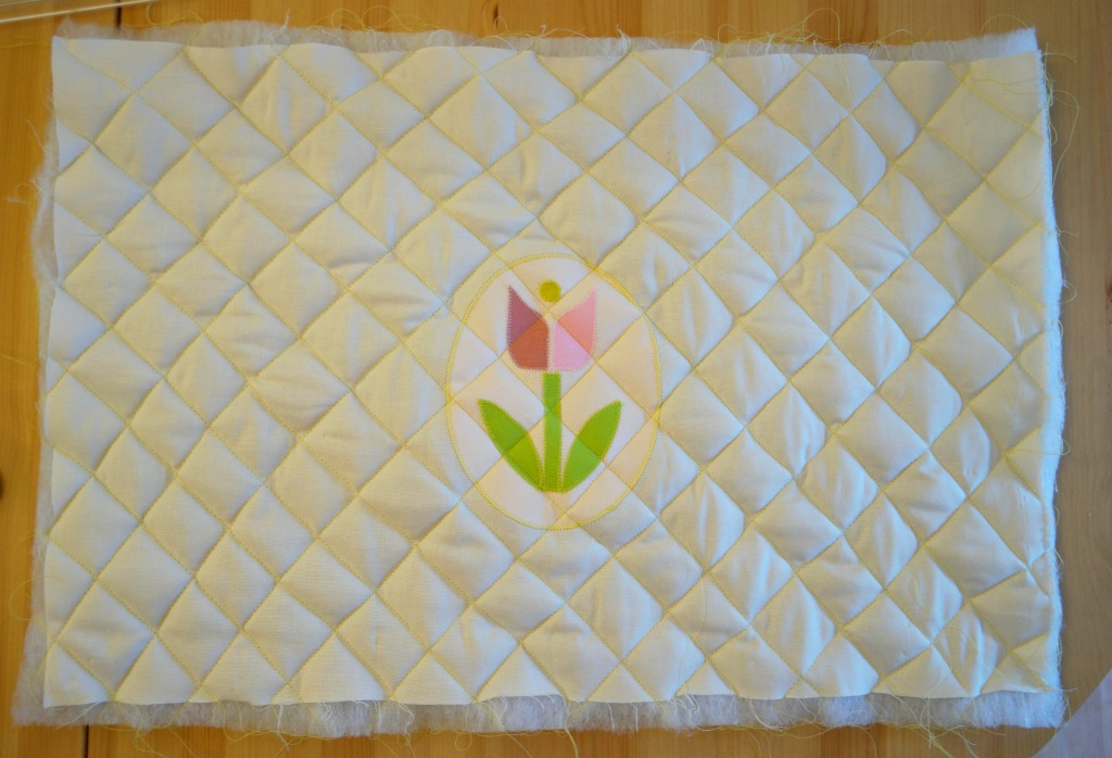 quilted sewing machine cover tutorial