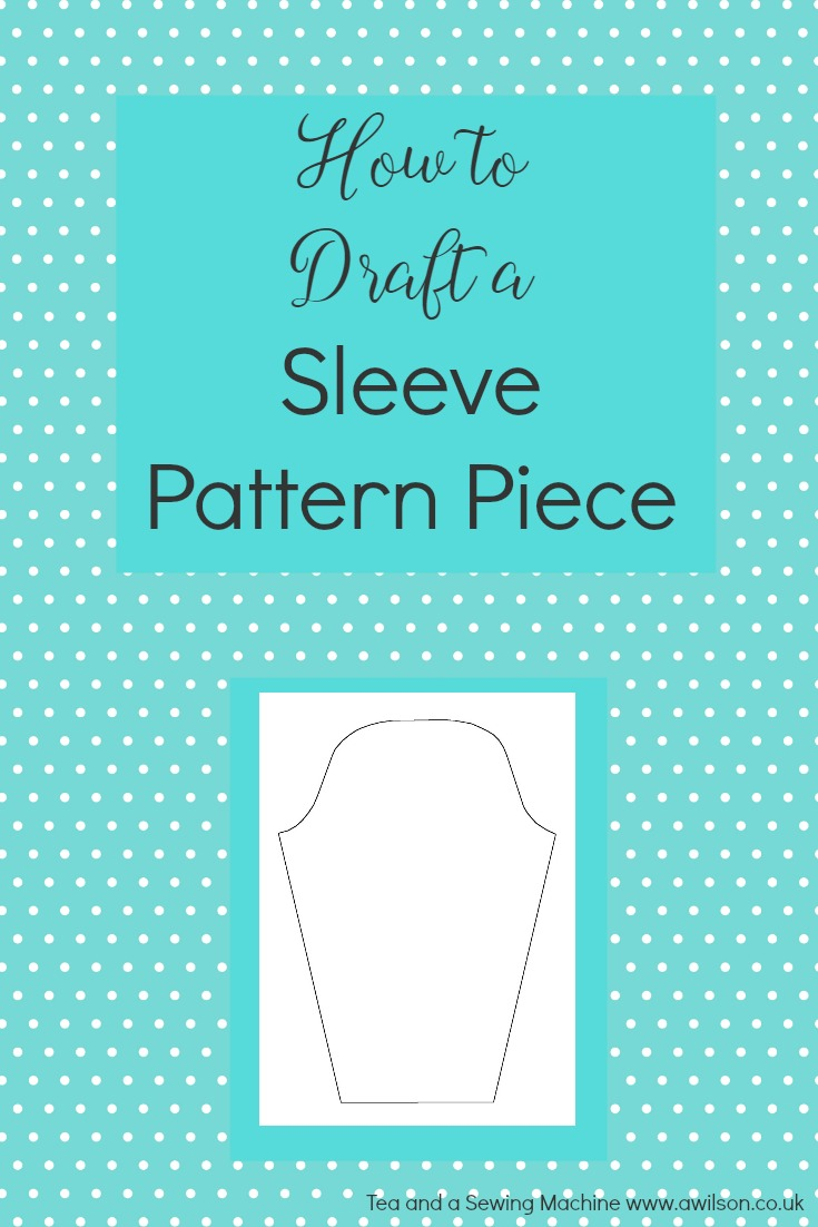 how to draft a sleeve pattern piece block sloper