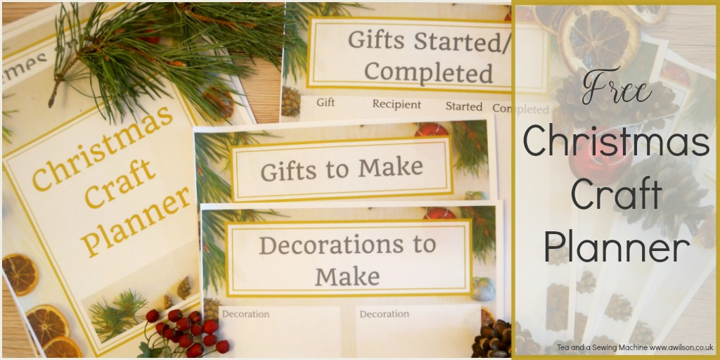 free christmas craft planner