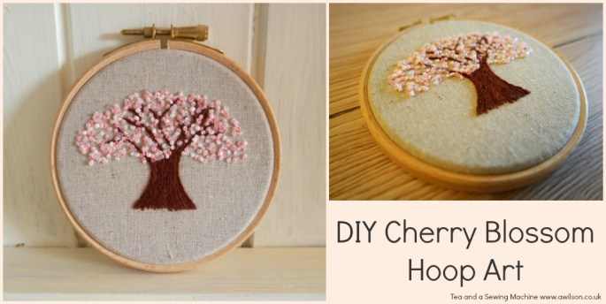 Cherry Blossom Embroidery Tutorial