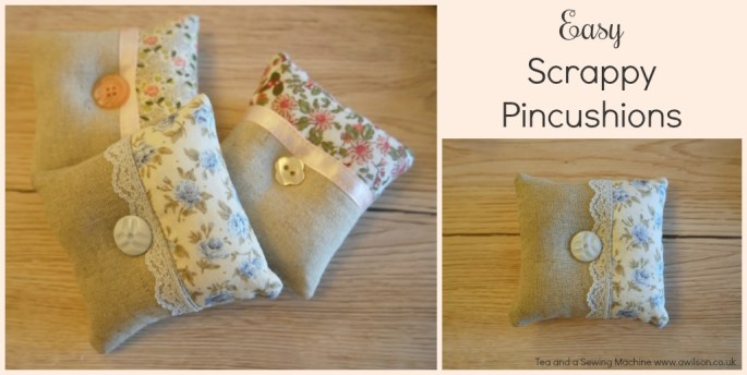 Easy Scrappy Pincushions