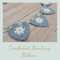 free crocheted bunting pattern