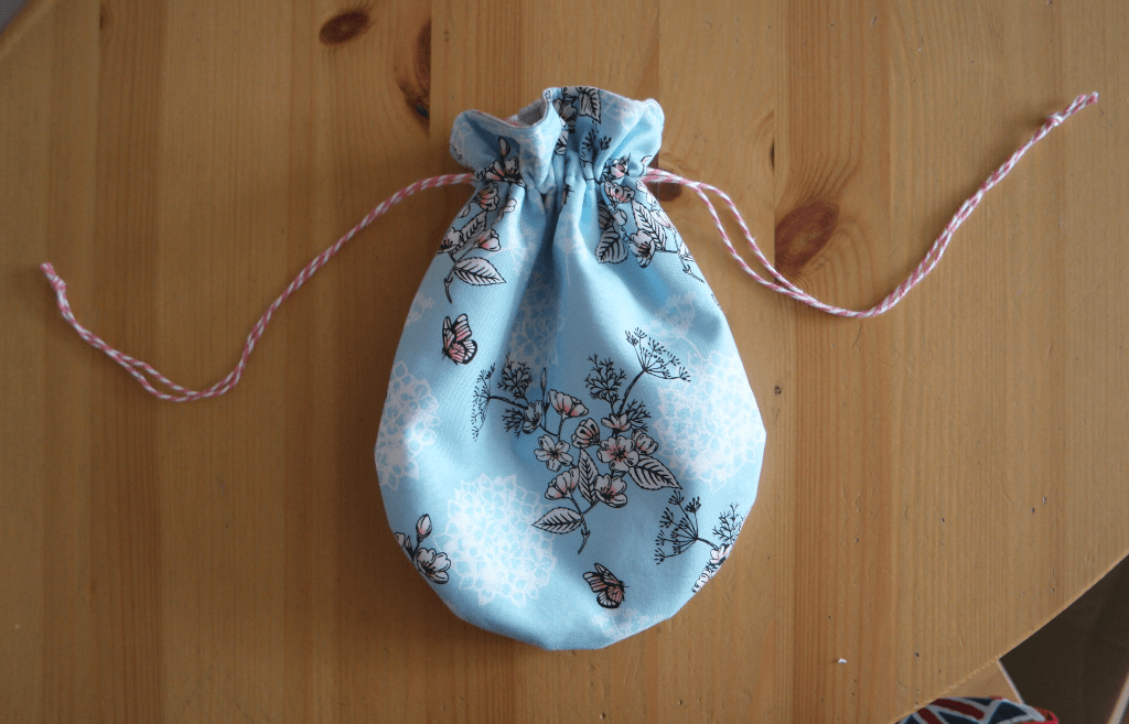 diy waterproof drawstring bag