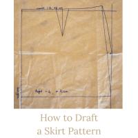 drafting a skirt pattern