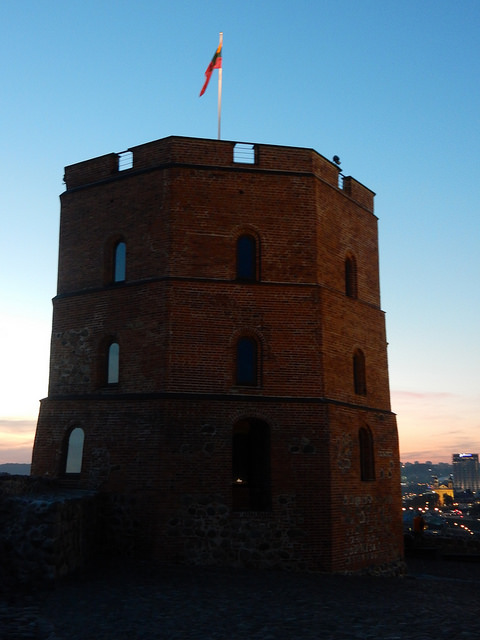 Gediminas' Tower in Vilnius, Lithuania