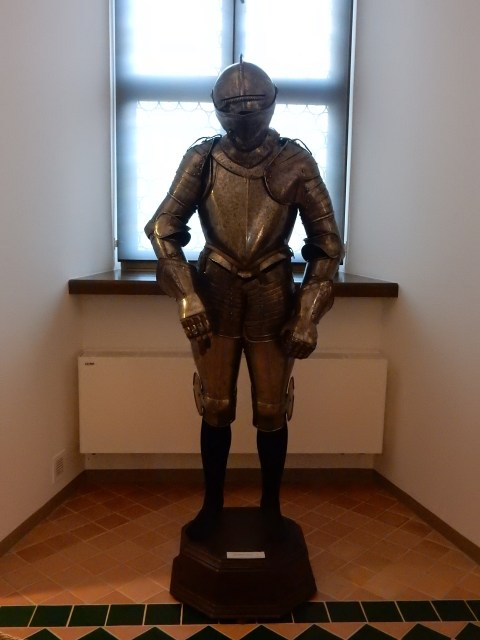 Palace of the Grand Duke of Lithuania in Vilnius. Knight.