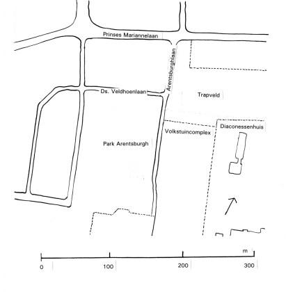 Locatie van de Romeinse stad