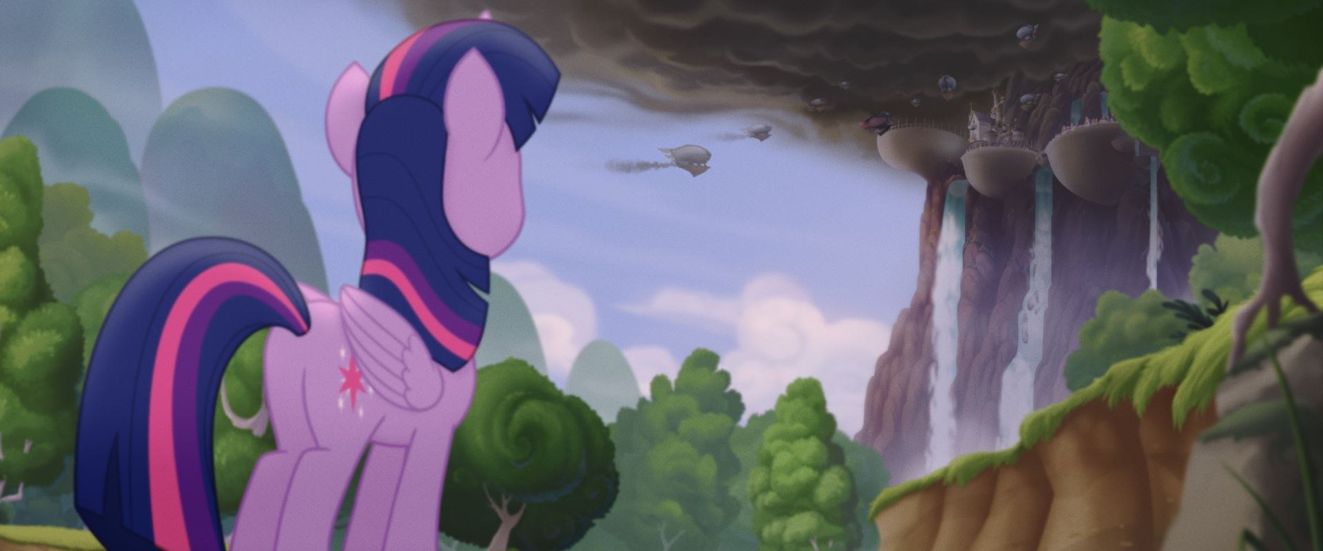 Lights Camera Action The Cinematography Of My Little Pony The Movie Animation World Network