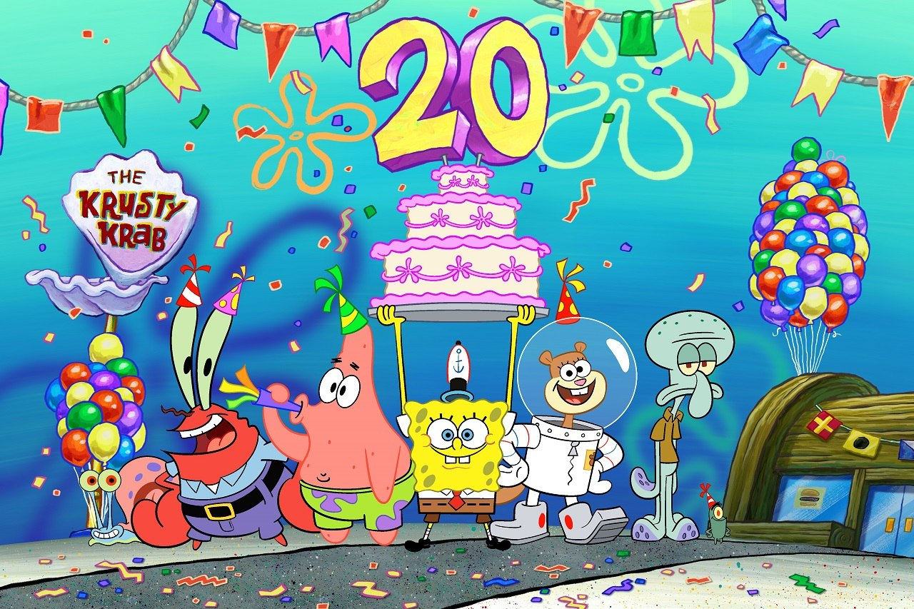Nickelodeon Marks 20 Years Of Spongebob Squarepants With Best Year Ever Animation World Network