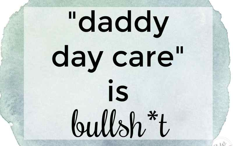 """Daddy Day Care"" is Bullsh*t"