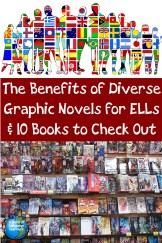 The benefits of Diverse Graphis Novels