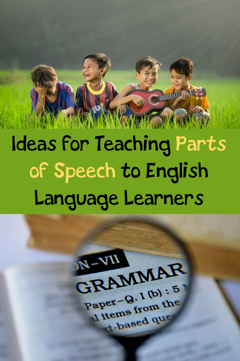 Teaching Parts of Speech to ELLs